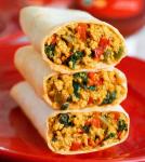 Veganistische ontbijtburrito's – super eiwitrijk!